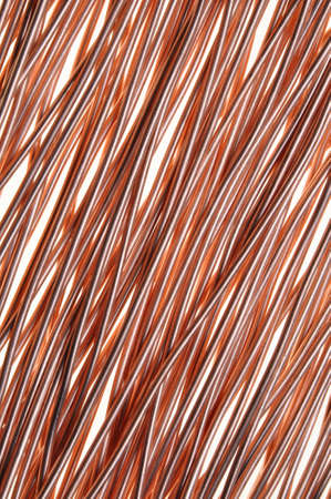 Copper wire symbol of energy and technology photo