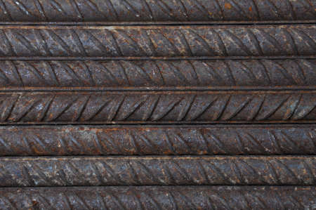 reinforcing: Reinforcing steel base construction industry Stock Photo