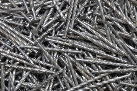 Swirl steel nails increased efficiency photo