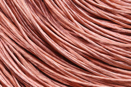 Copper wire energy and power photo