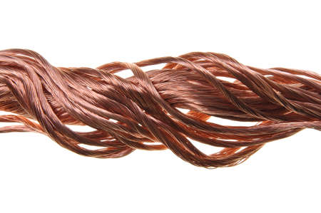 Copper wire power flow photo
