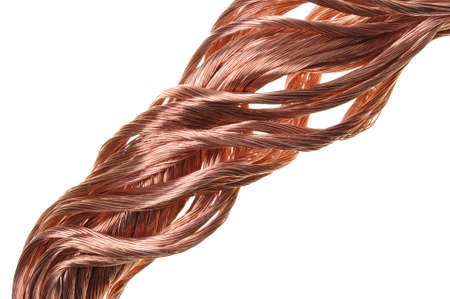Copper wire industry development photo