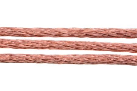 Power supply copper wire photo