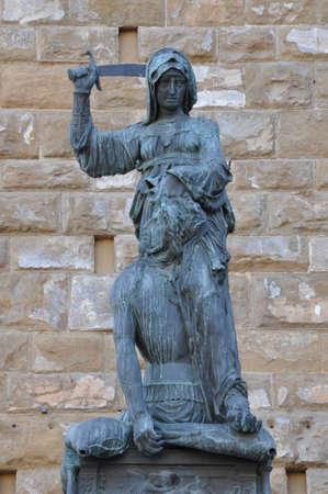 Art of Florence Judith killing Holofernes