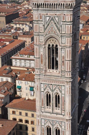 The Giotto s Campanile tower Florence Stock Photo - 14608884