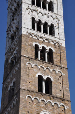 Tower, Duomo di Lucca, Tuscany, Italy Stock Photo - 14608879