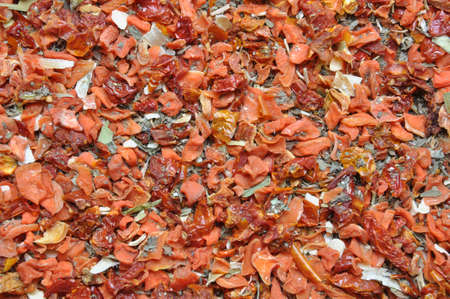 Italian spice mixture, spicy aromatic background photo