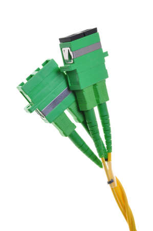 Connectors, optical cables used in data communication networks photo