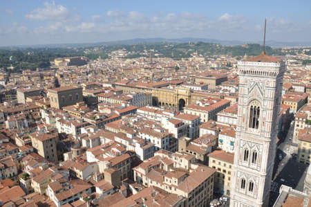City of Florence, the view from the Cathedral Stock Photo - 14674291