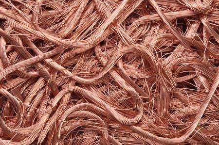 Copper wire recyclable materials photo