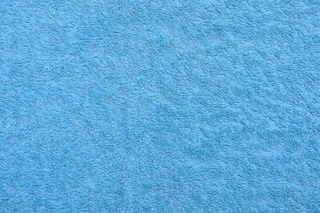 Fresh sea blue towel background photo