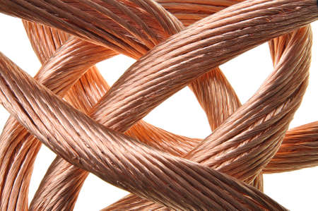 conductivity: Red copper wire industry