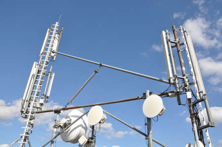 Masts and antenna cellular systems photo