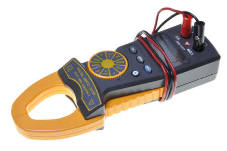 Electrical measurements clamp meter tester