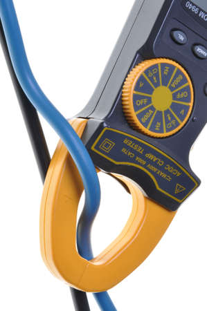 Electrical measurements clamp meter tester photo