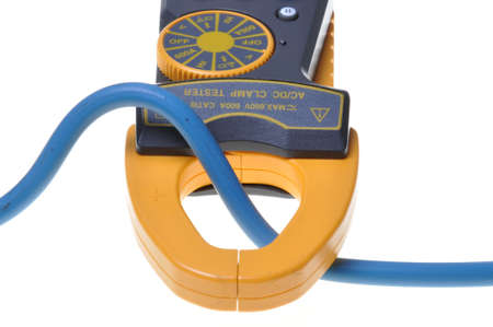 Electrical measurements clamp meter tester