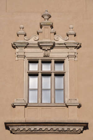 Window on the wall residence Stock Photo - 15890192