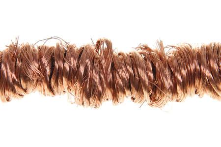 Copper wire , secondary raw materials Stock Photo - 16664865