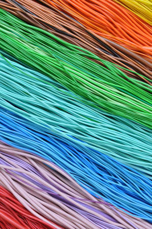 global links: Multi-colored wires in computer networks