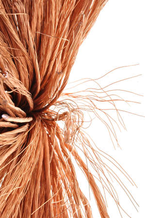 Copper wire, a symbol of growth and development in industry  photo