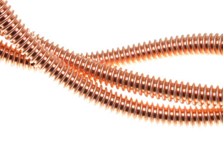 Copper cable, energy and technology industry  photo