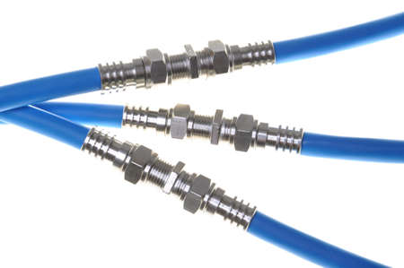 Coaxiale kabels met connectoren, media-systemen