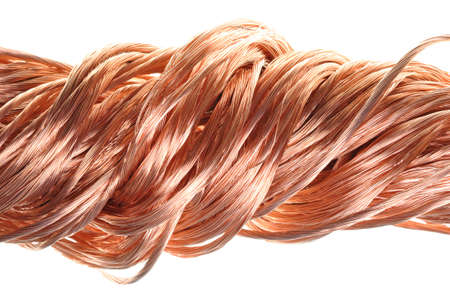 Copper wire material for the industry  photo