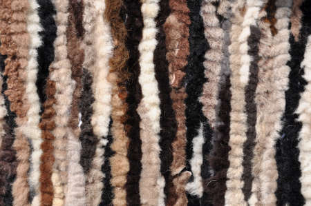 Treated warm sheepskin leather background Stock Photo - 21970902