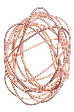 Copper wire photo