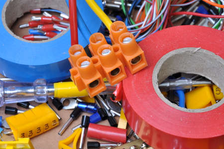Electrical component kit for use in electrical installations