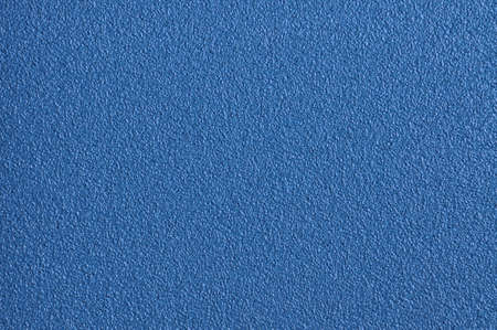 Background from surface of blue sandpaper