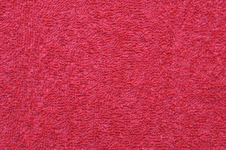 Red towel close up background photo