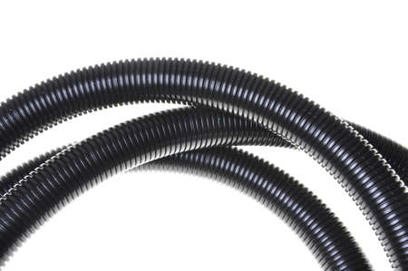 Corrugated pipe for electrical installations  photo