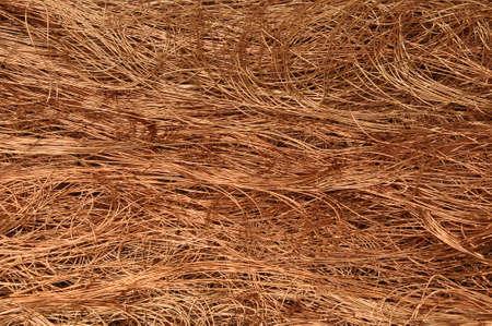 Copper wire background