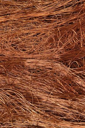 Copper wire background  photo
