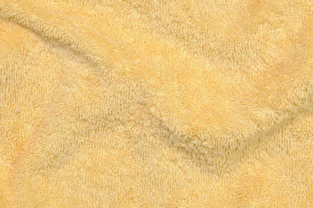 natural drying: Yellow towel background