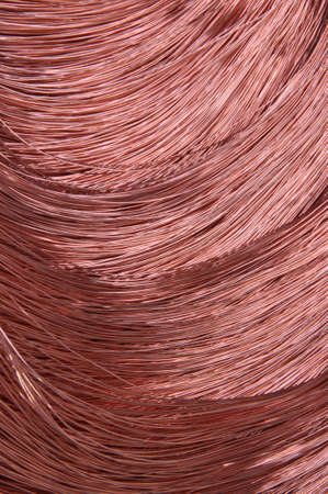 power industry: Copper wire for the power industry, background