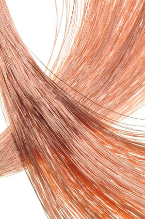 Copper wire for the power industry  photo