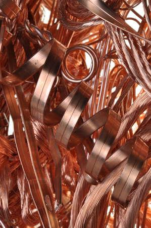 Scrap copper wir photo