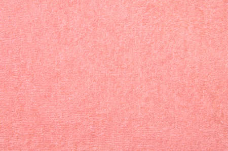 Fresh pink towel texture background photo