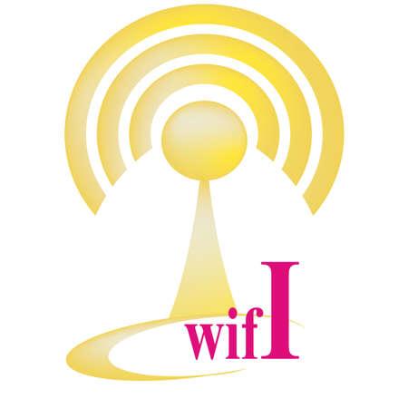 boardcast: Free wifi zone hotspot vector sign