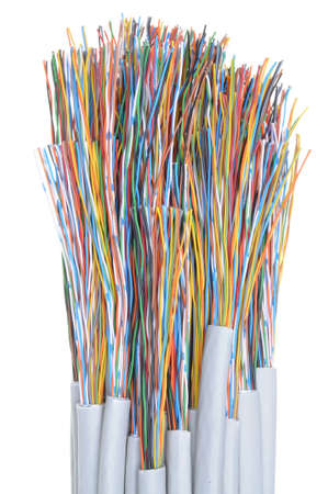 Telecommunication cables photo