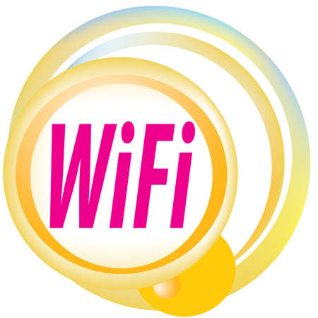Free wifi zone hotspot vector sign