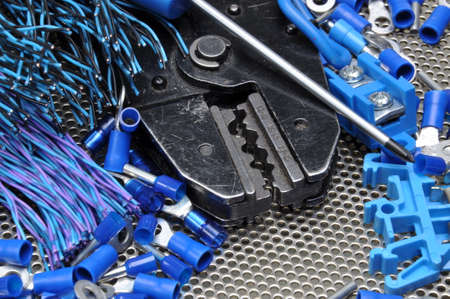electrician tools: Tools for electricians crimpers and accessories