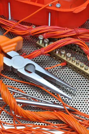 electrical component: Pliers with electrical component kit