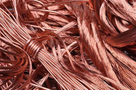 ferraille: fil de cuivre Scrap