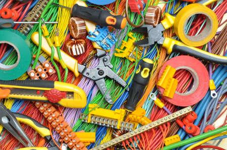 electricidad: Kit de componentes el�ctricos para uso en instalaciones el�ctricas