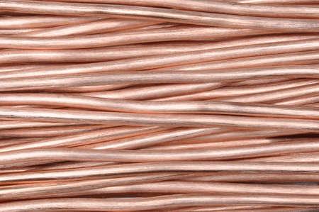 cobre: alambre de cobre
