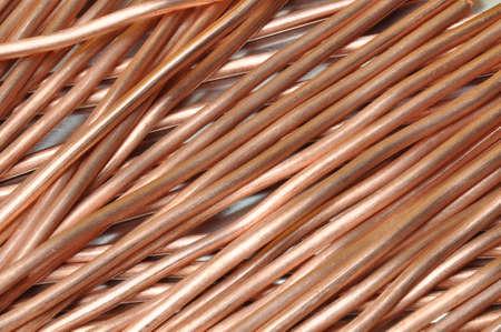 rhodium: copper wire