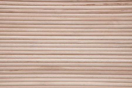 wood textures: Wooden stakes in rows as background Stock Photo